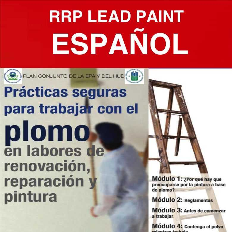 LEAD SPANISH rrp lead paint portuguese & spanish english