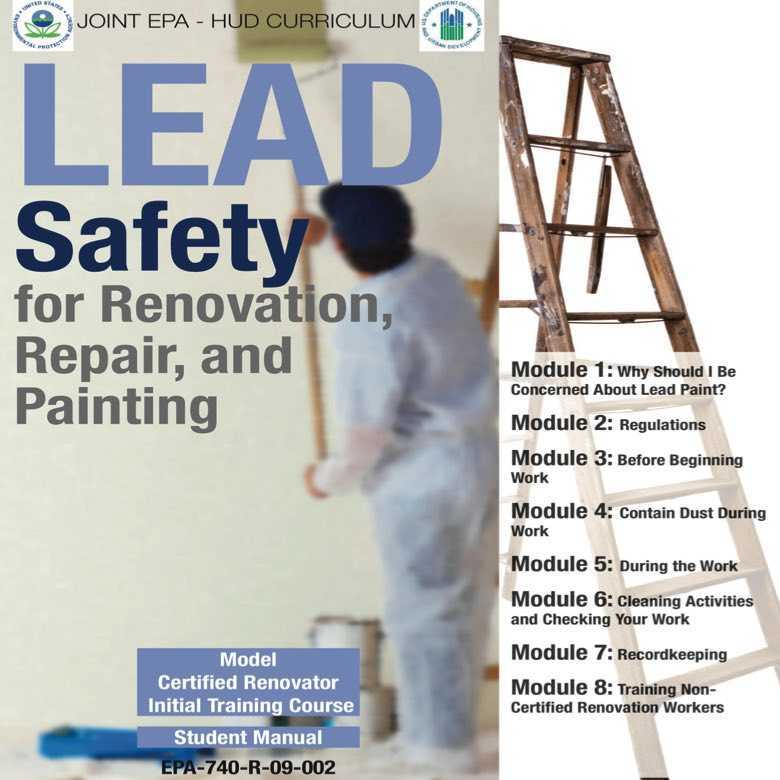 Rrp Lead Paint Training United Safety Net
