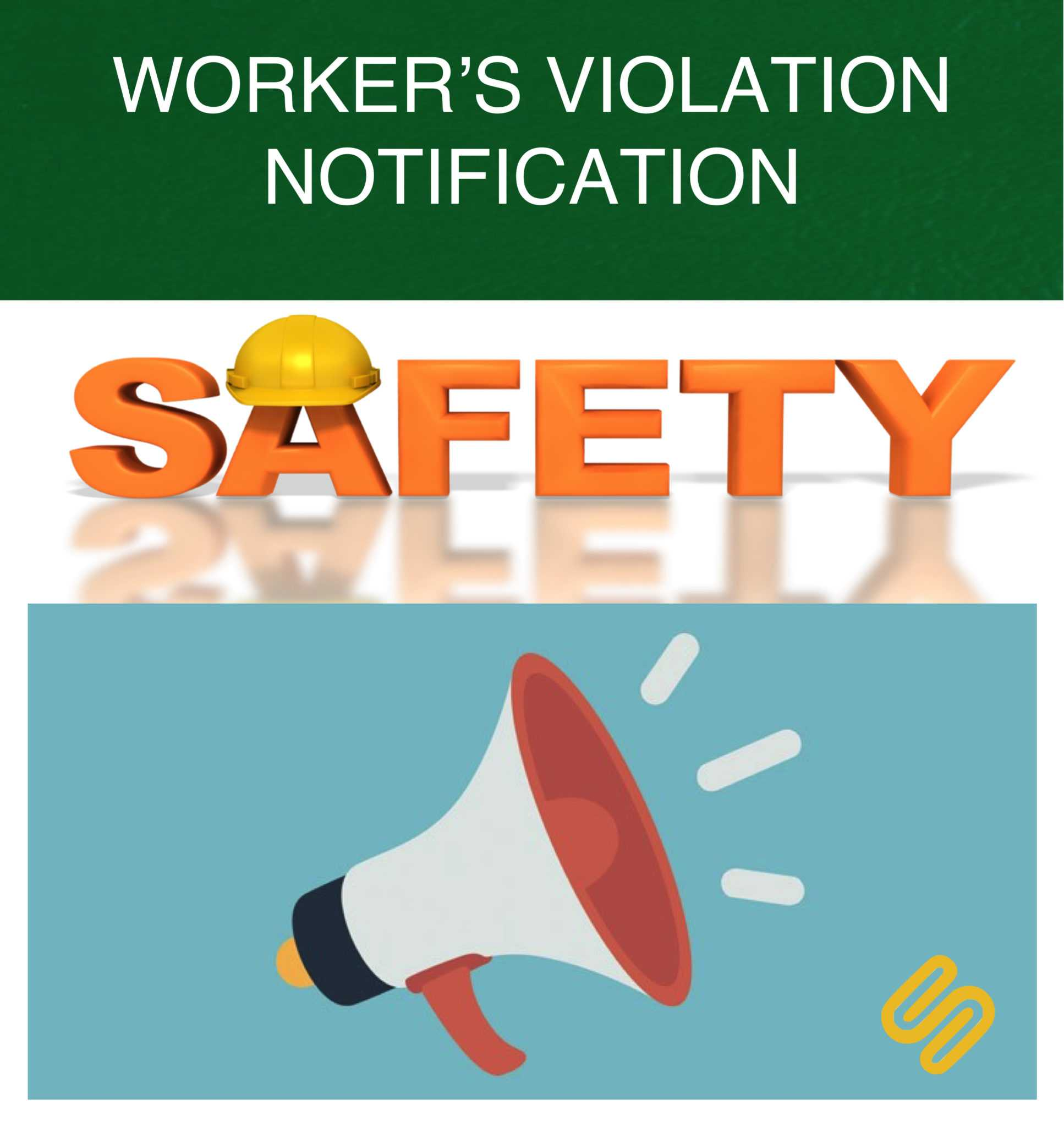 WORKERS VIOLATION NOTOFICATION